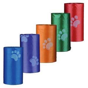ΣΑΚΟΥΛΕΣ ΠΕΡΙΤΤΩΜΑΤΩΝ TRIXIE 14 ΡΟΛΑ X 15ΤΜΧ (210 ΤΜΧ ΣΥΝΟΛΙΚΑ) pet shop σκυλοσ υγιεινη περιποιηση σακουλεσ περιττωματων