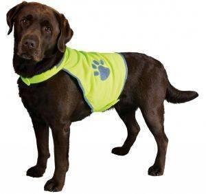 ΓΙΛΕΚΤΟ TRIXIE ΚΙΤΡΙΝΟ ΦΩΣΦΟΡΙΖΕ L pet shop σκυλοσ ενδυση γιλεκα