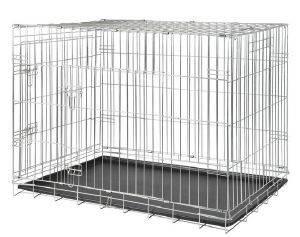 ΚΛΟΥΒΙ ΜΕΤΑΦΟΡΑΣ TRIXIE WIRE 93X69X62CM pet shop σκυλοσ ειδη μεταφορασ κλουβια μεταφορασ