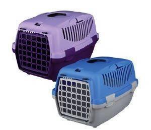 ΚΛΟΥΒΙ ΜΕΤΑΦΟΡΑΣ TRIXIE CAPRI II ΒΙΟΛΕΤΙ ΛΙΛΑ 37X34X55CM pet shop σκυλοσ ειδη μεταφορασ κλουβια μεταφορασ