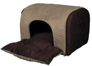 ΦΩΛΙΑ TRIXIE HOLLIS ΜΠΕΖ 43X32X36CM pet shop σκυλοσ στρωματα κρεβατια σπηλιεσ