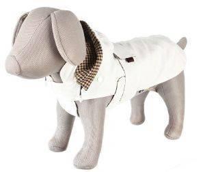 ΠΑΛΤΟ TRIXIE CERTALDO ΛΕΥΚΟ (M-45CM) pet shop σκυλοσ ενδυση παλτο