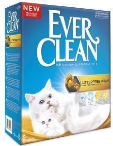ΑΜΜΟΣ EVER CLEAN LESS TRAIL 6L pet shop γατα αμμοσ συγκολλητικεσ