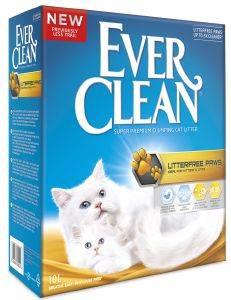 ΑΜΜΟΣ EVER CLEAN LESS TRAIL 10L pet shop γατα αμμοσ συγκολλητικεσ