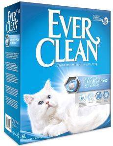 ΑΜΜΟΣ EVER CLEAN  EXTRA STRONG CLUMPING UNSCENTED ΧΩΡΙΣ ΑΡΩΜΑ 6L