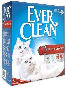 ΑΜΜΟΣ EVER CLEAN  MULTIPLE CAT 6L