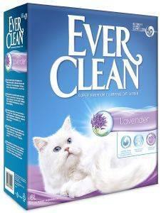 ΑΜΜΟΣ EVER CLEAN LAVENDER 6L pet shop γατα αμμοσ συγκολλητικεσ