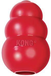 ΠΑΙΧΝΙΔΙ KONG CLASSIC ΚΑΟΥΤΣΟΥΚ ΚΟΚΚΙΝΟ (M) pet shop σκυλοσ παιχνιδια snack toys