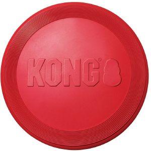 ΠΑΙΧΝΙΔΙ KONG FLYER ΚΑΟΥΤΣΟΥΚ ΚΟΚΚΙΝΟ (L) pet shop σκυλοσ παιχνιδια frisbee
