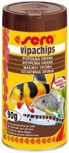 ΤΡΟΦΗ ΨΑΡΙΩΝ ΒΥΘΟΥ SERA VIPACHIPS (100ML) pet shop ψαρι τροφεσ τροφη ψαριου