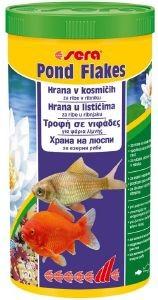 ΤΡΟΦΗ ΓΙΑ ΨΑΡΙΑ ΛΙΜΝΗΣ SERA POND FLAKES (1000ML) pet shop ψαρι τροφεσ ψαρια λιμνησ