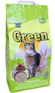 ΑΜΜΟΣ SIVOMATIC SIVOCAT GREEN WOOD PELETS ΓΙΑ ΓΑΤΕΣ - ΤΡΩΚΤΙΚΑ 20L pet shop γατα αμμοσ φυσικο ξυλο