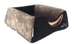 ΦΩΛΙΑ - ΚΡΕΒΑΤΙ ROGZ IGLOO JUMPING CAT ΜΑΥΡΟ (40X32X80CM) pet shop γατα στρωματα κρεβατια φωλιεσ