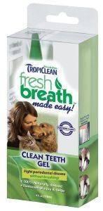 GEL ΓΙΑ ΔΟΝΤΙΑ TROPICLEAN FRESH BREATH GEL 113GR pet shop σκυλοσ υγιεινη περιποιηση στοματικη υγιεινη