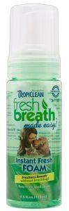 AΦΡΟΣ ΣΤΟΜΑΤΙΚΗΣ ΠΕΡΙΠΟΙΗΣΗΣ TROPICLEAN FRESH BREATH FOAM 133ML pet shop σκυλοσ υγιεινη περιποιηση στοματικη υγιεινη
