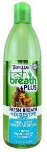 ΣΤΟΜΑΤΙΚΗ ΠΕΡΙΠΟΙΗΣΗ TROPICLEAN FRESH BREATH ΠΡΟΣΘΕΤΟ ΝΕΡΟΥ ΕΝΥΣΧΥΣΗ ΠΕΠΤΙΚΟΥ470 pet shop σκυλοσ υγιεινη περιποιηση στοματικη υγιεινη