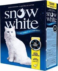ΑΜΜΟΣ ΓΑΤΑΣ SNOW WHITE EXTRA POWER UNSCENTED ΑΥΤΟΣΥΓΚΟΛΛΟΥΜΕΝΗ 10L pet shop γατα αμμοσ συγκολλητικεσ