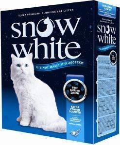 ΑΜΜΟΣ ΓΑΤΑΣ SNOW WHITE EXTRA POWER SCENTED ΑΥΤΟΣΥΓΚΟΛΛΟΥΜΕΝΗ 10L pet shop γατα αμμοσ συγκολλητικεσ