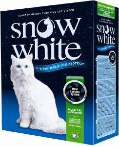 ΑΜΜΟΣ ΓΑΤΑΣ SNOW WHITE MULTI CAT UNSCENTED ΑΥΤΟΣΥΓΚΟΛΛΟΥΜΕΝΗ 10L pet shop γατα αμμοσ συγκολλητικεσ