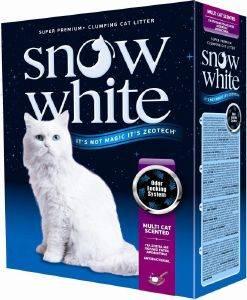 ΑΜΜΟΣ ΓΑΤΑΣ SNOW WHITE MULTI CAT SCENTED ΑΥΤΟΣΥΓΚΟΛΛΟΥΜΕΝΗ 10L pet shop γατα αμμοσ συγκολλητικεσ