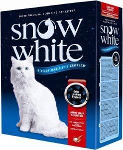 ΑΜΜΟΣ ΓΑΤΑΣ SNOW WHITE LONG HAIR SCENTED ΑΥΤΟΣΥΓΚΟΛΛΟΥΜΕΝΗ 10L pet shop γατα αμμοσ συγκολλητικεσ