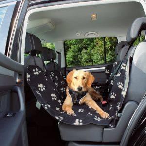 ΚΑΛΥΜΜΑ TRIXIE ΚΑΘΙΣΜΑΤΟΣ ΑΥΤΟΚΙΝΗΤΟΥ BLACK BEIGE 140X145CM pet shop σκυλοσ ασφαλεια καλυμματα