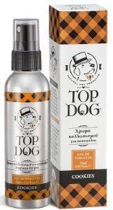 ΑΡΩΜΑ ΣΚΥΛΟΥ TOPDOG ΦΥΤΙΚΟ COOKIES SPRAY 75ML pet shop σκυλοσ υγιεινη περιποιηση κολονιεσ