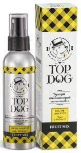 ΑΡΩΜΑ ΣΚΥΛΟΥ TOPDOG ΦΥΤΙΚΟ FRUIT MIX SPRAY 75ML pet shop σκυλοσ υγιεινη περιποιηση κολονιεσ