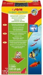 ΥΛΙΚΟ ΦΙΛΤΡΑΡΙΣΜΑΤΟΣ SERA SUPER CARBON 1000GR pet shop ψαρι εξοπλισμοσ ενυδρειου φιλτρα