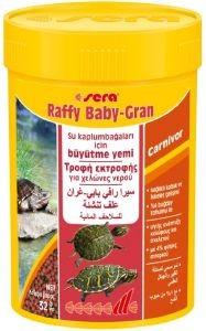 ΤΡΟΦΗ ΓΙΑ ΝΕΟΓΕΝΝΗΤΕΣ ΚΑΙ ΝΕΑΡΕΣ ΧΕΛΩΝΕΣ SERA RAFFY BABY GRAN 100ML pet shop ερπετο τροφεσ χελωνεσ