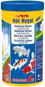 ΤΡΟΦΗ ΓΙΑ ΨΑΡΙΑ KOI SERA ROYAL MINI 1000ML pet shop ψαρι τροφεσ χρυσοψαρα κοι