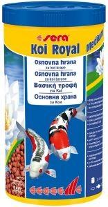 ΤΡΟΦΗ ΓΙΑ ΨΑΡΙΑ KOI SERA ROYAL MEDIUM 1000ML pet shop ψαρι τροφεσ χρυσοψαρα κοι
