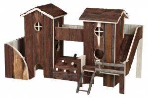 ΠΑΡΚΟ TRIXIE ESTER ΓΙΑ ΧΑΜΣΤΕΡ 3 ΟΡΟΦΩΝ 55X35X23CM pet shop τρωκτικο αξεσουαρ κλουβιου παιχνιδια