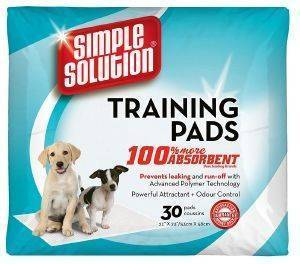 ΠΑΝΕΣ SIMPLE SOLUTION ΓΙΑ ΚΟΥΤΑΒΙΑ 60X60CM 30ΤΜΧ pet shop σκυλοσ υγιεινη περιποιηση τουαλετα