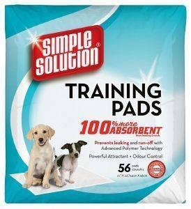 ΠΑΝΕΣ SIMPLE SOLUTION ΓΙΑ ΚΟΥΤΑΒΙΑ 60X60CM 56ΤΜΧ pet shop σκυλοσ υγιεινη περιποιηση τουαλετα