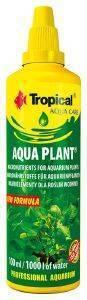 ΥΓΡΟ TROPICAL AQUA PLANT 100ML pet shop ψαρι βελτιωτικα νερου ιχνοστοιχεια φυτων