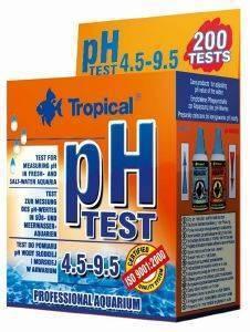ΣΕΤ TROPICAL PH TEST 4.5-9.5 pet shop ψαρι βελτιωτικα νερου test
