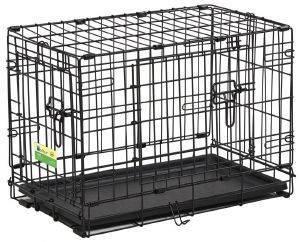 ΚΛΟΥΒΙ ΜΕΤΑΦΟΡΑΣ - ΕΚΠΑΙΔΕΥΣΗΣ MIDWEST CONTOUR ΜΕ 2 ΠΟΡΤΕΣ (57X35.5X41CM) pet shop σκυλοσ ειδη μεταφορασ κλουβια μεταφορασ