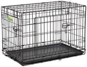 ΚΛΟΥΒΙ ΜΕΤΑΦΟΡΑΣ - ΕΚΠΑΙΔΕΥΣΗΣ MIDWEST CONTOUR ΜΕ 2 ΠΟΡΤΕΣ (77.5X49X55CM) pet shop σκυλοσ ειδη μεταφορασ κλουβια μεταφορασ