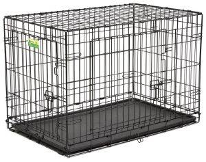ΚΛΟΥΒΙ ΜΕΤΑΦΟΡΑΣ - ΕΚΠΑΙΔΕΥΣΗΣ MIDWEST CONTOUR ΜΕ 2 ΠΟΡΤΕΣ (92.7X59.7X62CM) pet shop σκυλοσ ειδη μεταφορασ κλουβια μεταφορασ