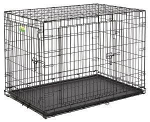 ΚΛΟΥΒΙ ΜΕΤΑΦΟΡΑΣ - ΕΚΠΑΙΔΕΥΣΗΣ MIDWEST CONTOUR ΜΕ 2 ΠΟΡΤΕΣ (108.9X73X77CM) pet shop σκυλοσ ειδη μεταφορασ κλουβια μεταφορασ