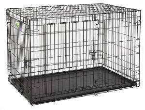ΚΛΟΥΒΙ ΜΕΤΑΦΟΡΑΣ - ΕΚΠΑΙΔΕΥΣΗΣ MIDWEST CONTOUR ΜΕ 2 ΠΟΡΤΕΣ (123X76.8X81CM) pet shop σκυλοσ ειδη μεταφορασ κλουβια μεταφορασ