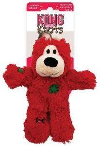 ΧΡΙΣΤΟΥΓΕΝΝΙΑΤΙΚΟ ΠΑΙΧΝΙΔΙ KONG KNOTS WILD BEAR SMALL 17.8X12.1X7CM pet shop σκυλοσ παιχνιδια χριστουγεννιατικα