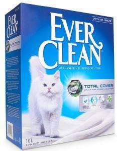 ΑΜΜΟΣ EVERCLEAN TOTAL COVER 10L pet shop γατα αμμοσ συγκολλητικεσ