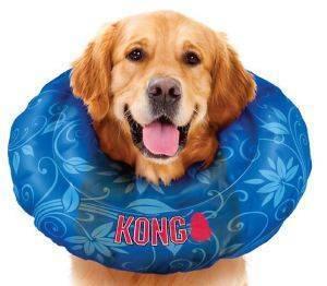 ΠΡΟΣΤΑΤΕΥΤΙΚΟ ΚΟΛΑΡΟ ΣΚΥΛΟΥ KONG CUSHION ΜΠΛΕ M pet shop σκυλοσ ασφαλεια πρωτεσ βοηθειεσ