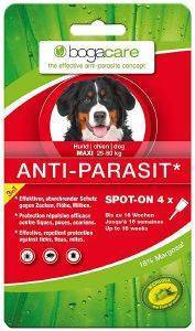 ΑΝΤΙΠΑΡΑΣΙΤΙΚΕΣ ΑΜΠΟΥΛΕΣ BOGACARE ANTI-PARASIT SPOT ON MAXI 4TMX pet shop σκυλοσ αντιπαρασιτικα αντιπαρασιτικεσ αμπουλεσ