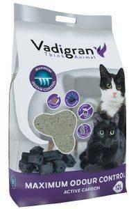 ΑΜΜΟΣ ΣΥΓΚΟΛΛΗΤΙΚΗ VADIGRAN ODOR CONTROL 12KG pet shop γατα αμμοσ συγκολλητικεσ