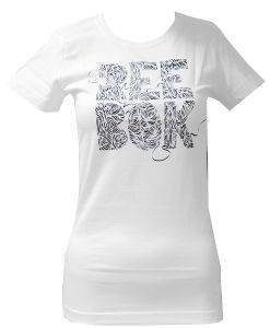 ΜΠΛΟΥΖΑ REEBOK SPORT ENDLESS RIBBON LOGO TEE ΑΣΠΡΟ (M)