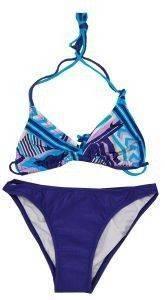 ΜΑΓΙΟ BUTT LOGO BIKINI ΜΠΛΕ/ΜΩΒ αθλητικά είδη beachwear γυναικα ενδυση μαγιο bikini set
