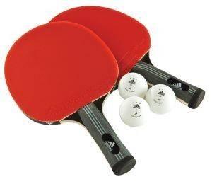 ΣΕΤ PING-PONG ADIDAS COMP ΚΟΚΚΙΝΟ αθλητικά είδη ping pong εξοπλισμοσ ρακετεσ ping pong